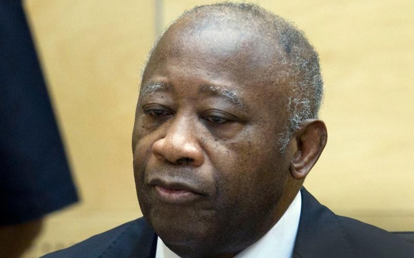 Gbagbo à la Haye pensif