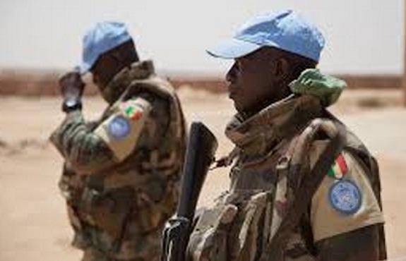 casque bleus senegalais
