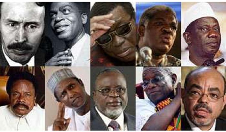 chef africain mort