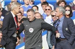 mourinho et wenger