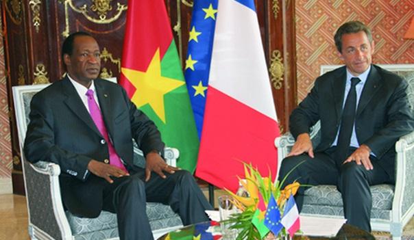 Compaoré et Sarkozy