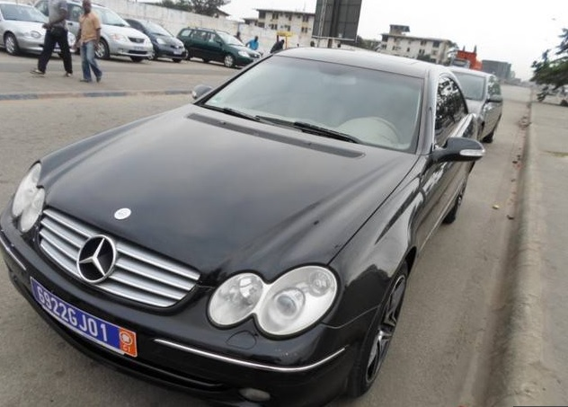 Voiture Mercedes