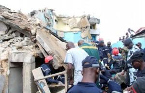effondrement d'immeuble