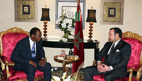 maroc Mohammed-VI-Blaise-Compaore