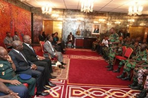 ouattara et les militaires
