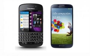 samsung et blackberryy