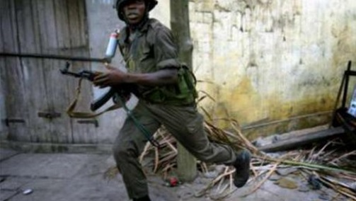 soldat en fuite