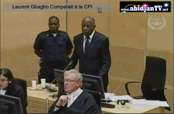 Laurent Gbagbo A la Haye tribunaleMain