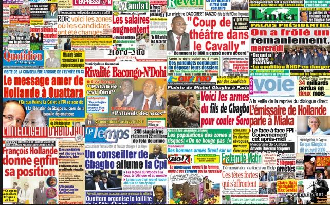Press cote d'Ivoire
