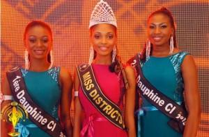 benedicte koua miss district 2015