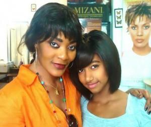 monique seka et sa fille
