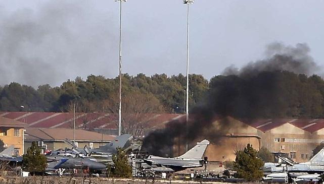 crash avion francais