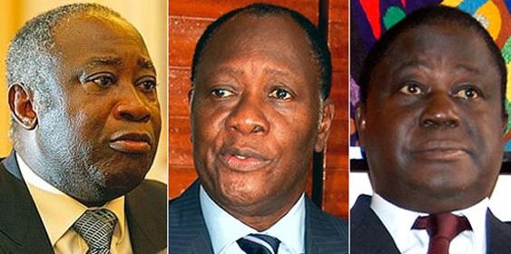 gbagbo bedié et ouattara