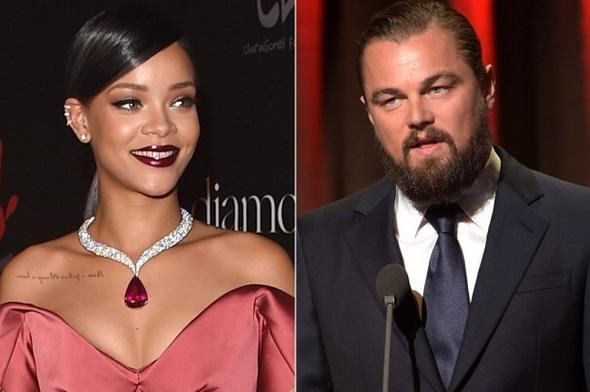 Leonardo DiCaprio et Rihanna