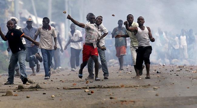 manifestation burundi