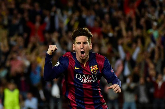 Capture messi football