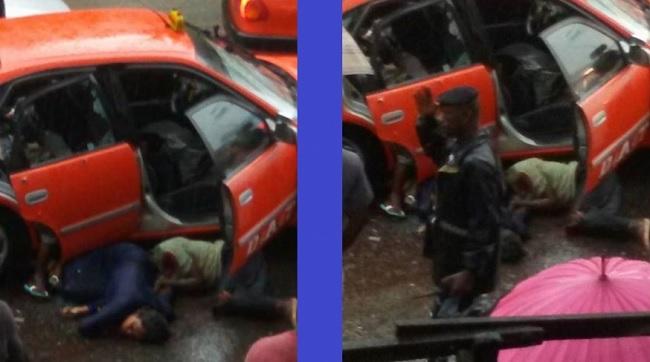 taxi braquage