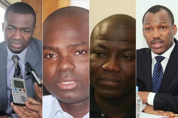 Karamoko, Alphonse Soro, Karim Ouattara et Mamadou Touré