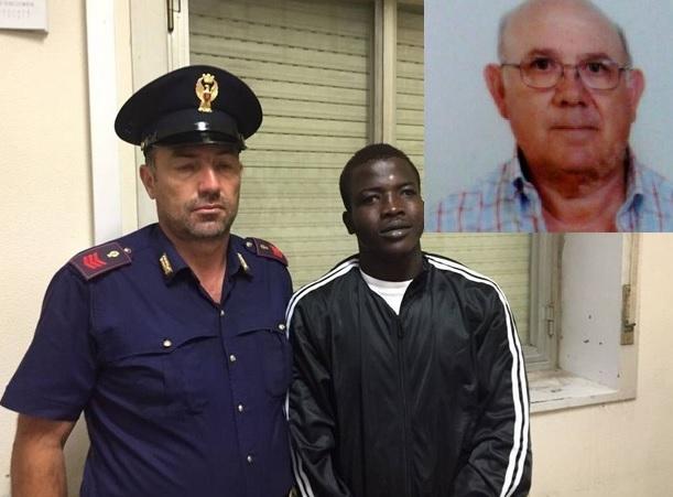 ivoirien egorge les blancs