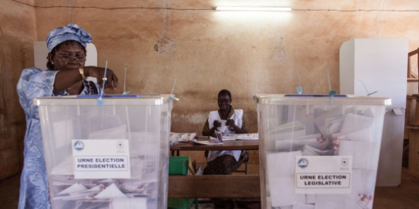election burkina