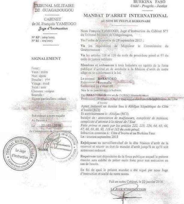 mandat lettre