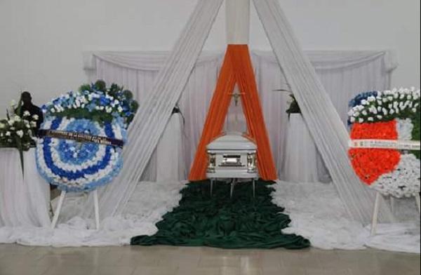 Cercueil papa wemba