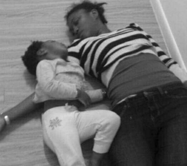 femme et sa fille assassine