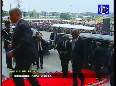 Obsèque de papa wemba