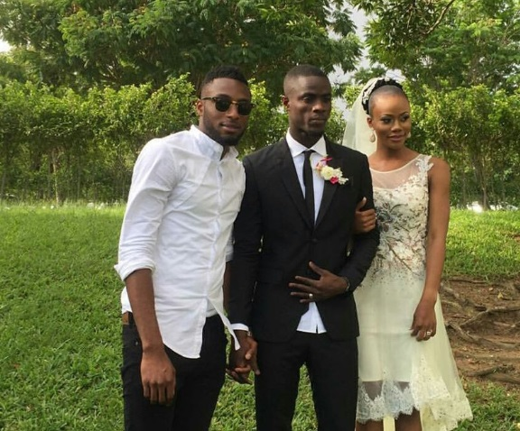 eric bailly marriage 1