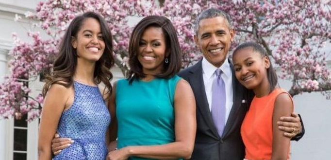 maison obama et famille