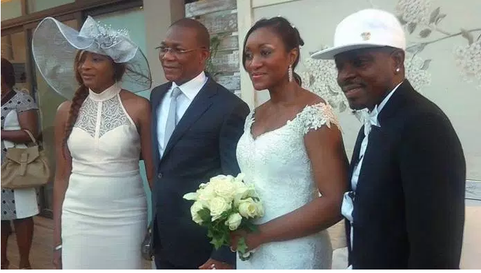 mariage bruno et niece de ouattara