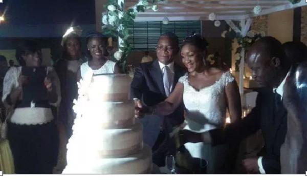 mariage bruno et niece de ouattara1