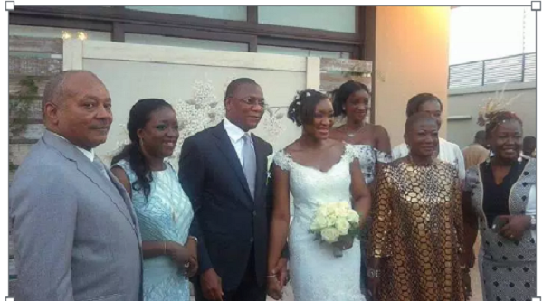 mariage bruno et niece de ouattara2