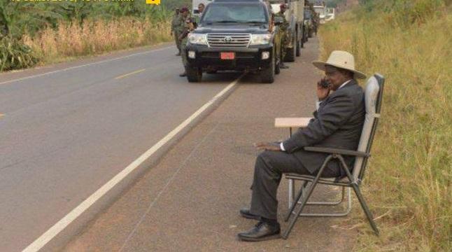 president ougandais