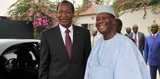 """Résultat de recherche d'images pour """"En exil en Côte d'Ivoire depuis 2014, Blaise Compaoré pourrait bientôt rentrer chez lui..."""""""