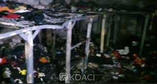 Côte d'Ivoire : Man, un incendie déclaré à la prison suite à un court- circuit, un impressionnant déploiement de l'armée devant le centre  pénitentiaire - KOACI