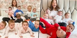 23 ans, mère de 11 enfants, elle rêve de former la famille la plus nombreuse  du monde avec 100 enfants - Abidjanshow.com