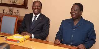 Le Chef de l'État a eu un entretien avec le Président Henri Konan BEDIE –  Présidence de la république de Côte d'ivoire